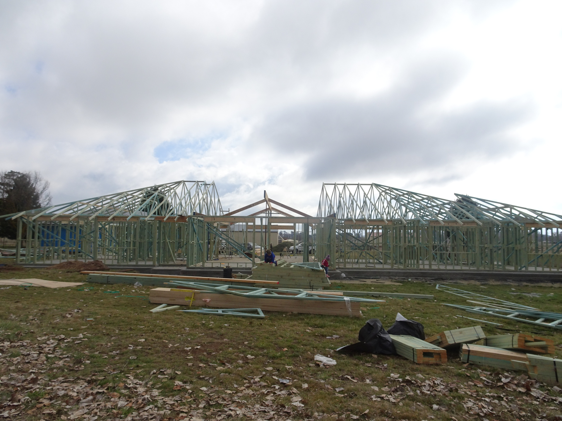 House frame and trusses